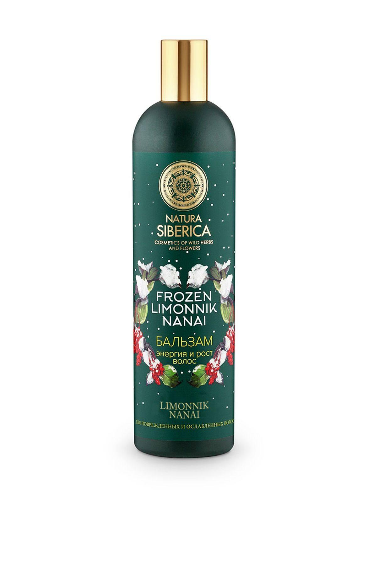 Natura Siberica Frozen limonnik nanai Бальзам Энергия и рост волос, 400 мл