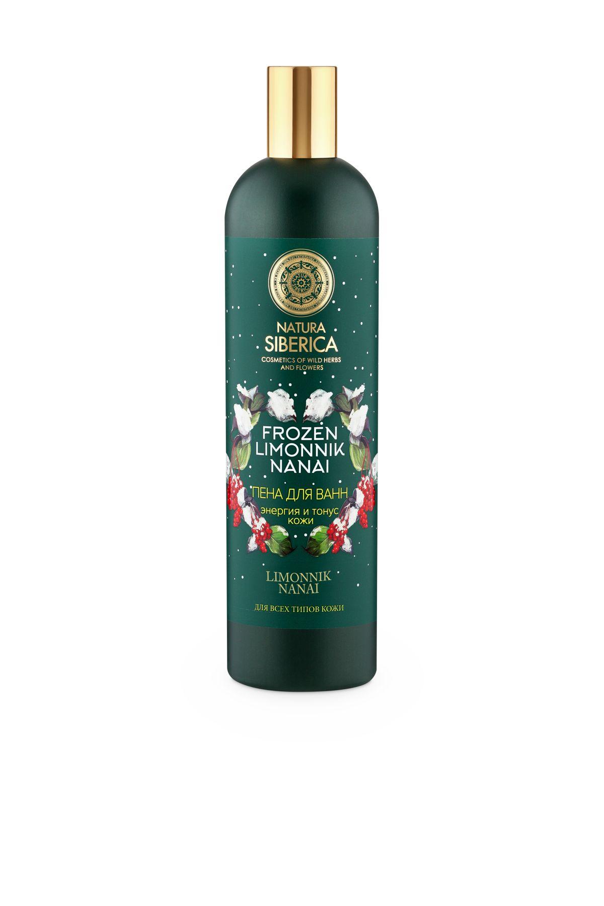 Natura Siberica Frozen limonnik nanai Пена для ванн Энергия и тонус кожи, 550 мл