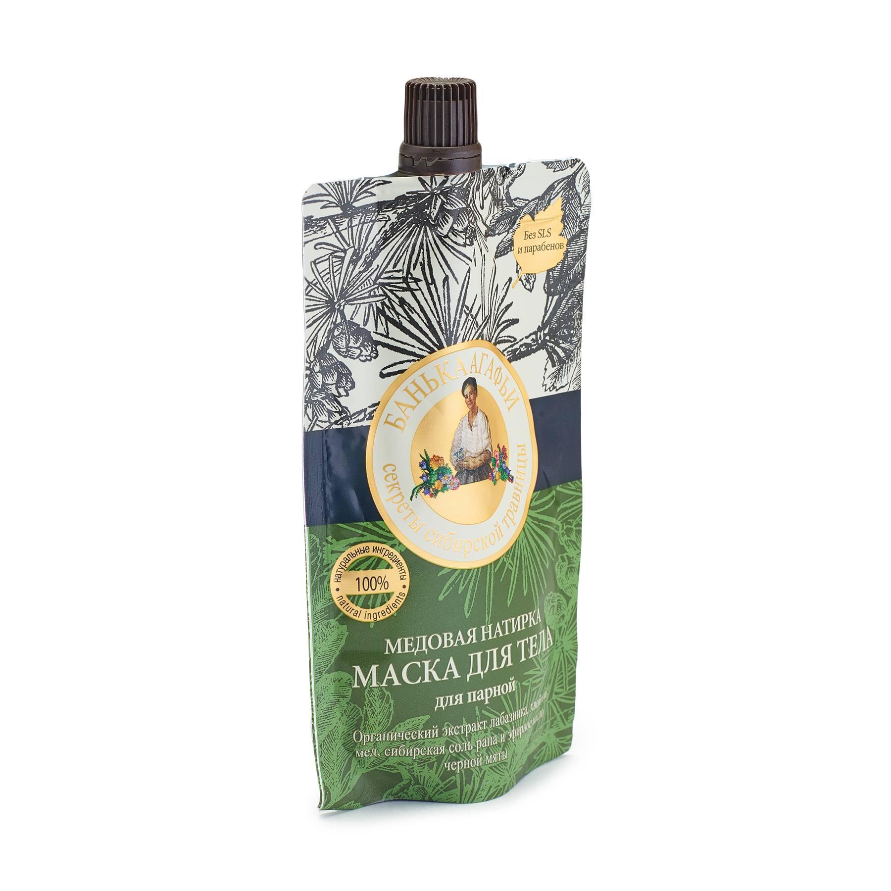 Купить Банька Агафьи Маска для тела Медовая натирка , , 100 мл, РЕЦЕПТЫ БАБУШКИ АГАФЬИ (shop: Organic-shops Organic shops)