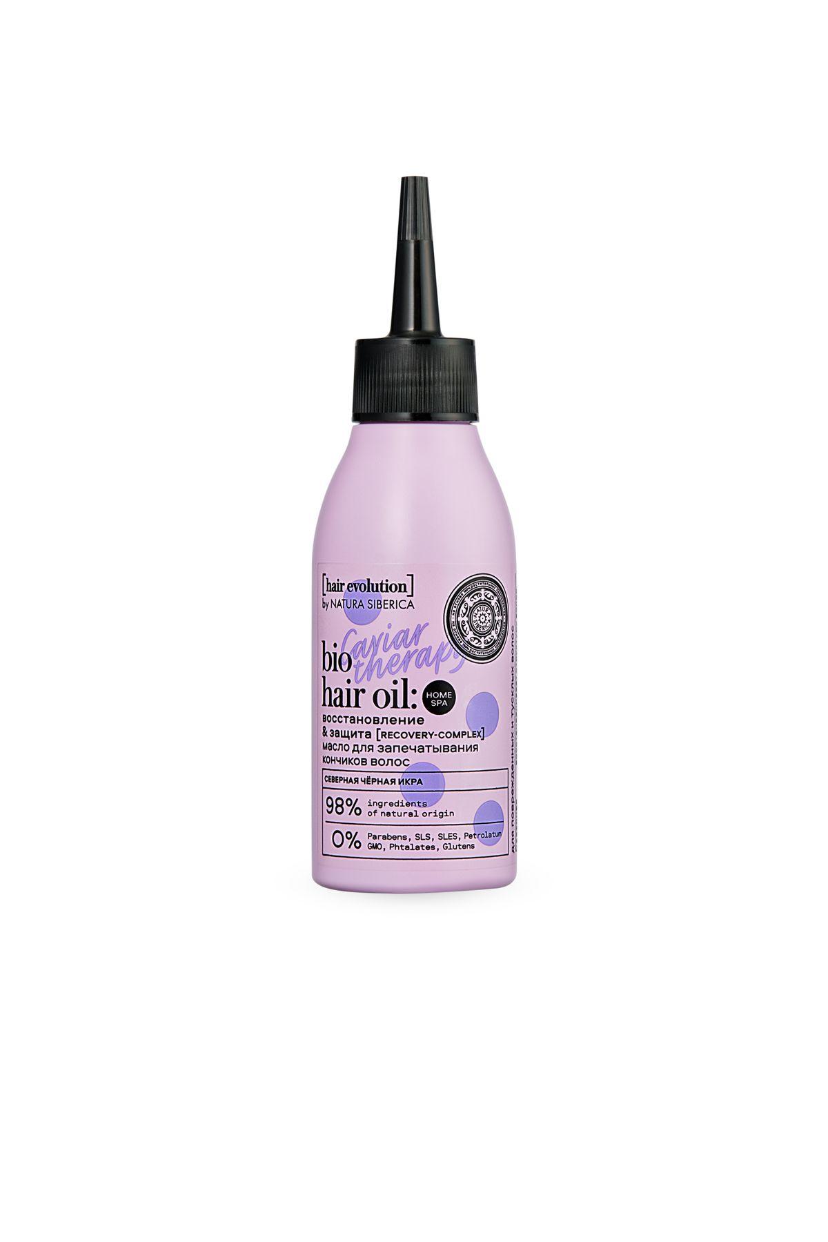 Купить Natura Siberica Hair Evolution Масло для запечатывания кончиков волос CAVIAR THERAPY.Восстановление &Защита , 120мл (shop: Organic-shops Organic shops)