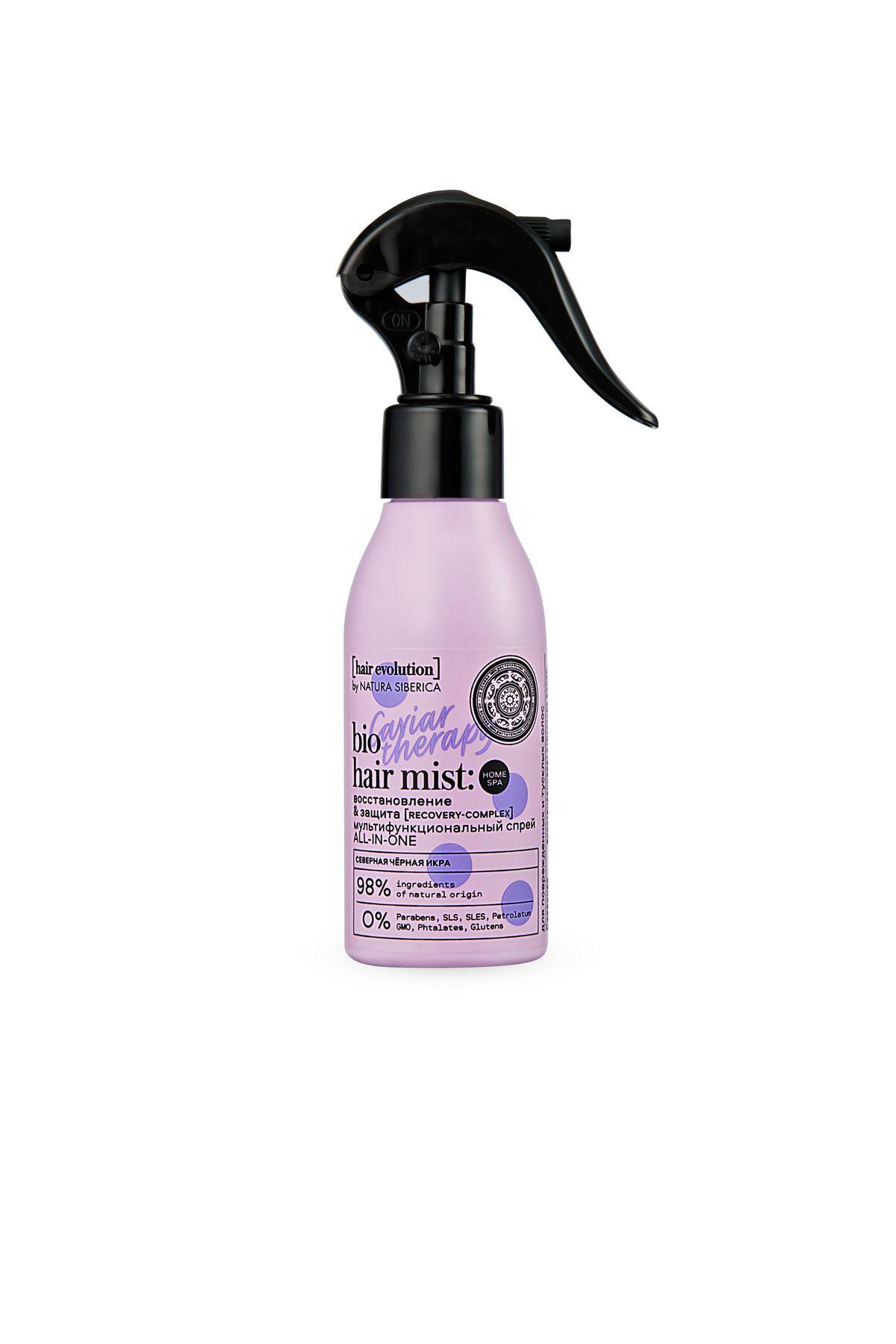 Купить Natura Siberica Hair Evolution Мультифункциональный спрей- кондиционер для волос CAVIAR THERAPY. Восстановление &Защита , 120 мл (shop: Organic-shops Organic shops)