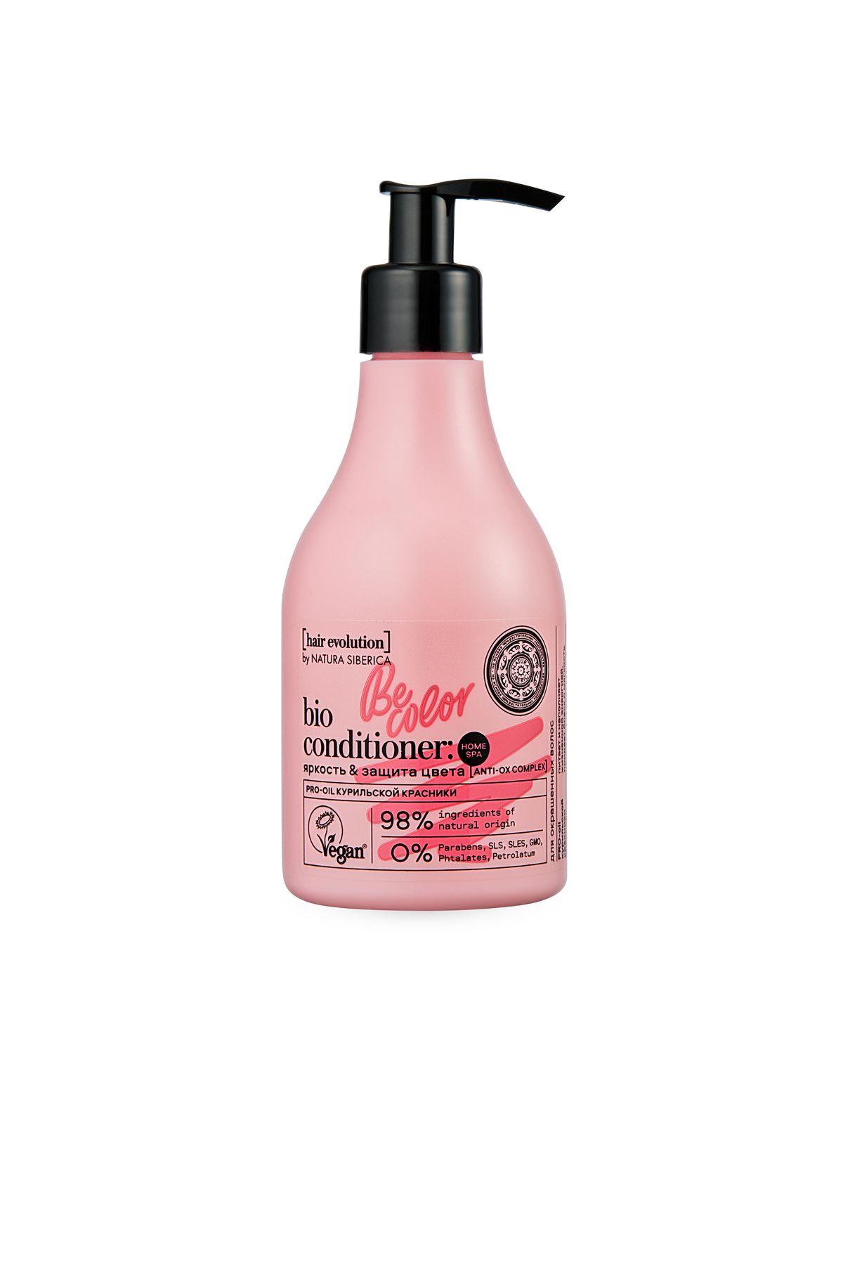 Купить Natura Siberica Hair Evolution Бальзам для волос BE-COLOR. Яркость & защита цвета , 250 мл (shop: Organic-shops Organic shops)