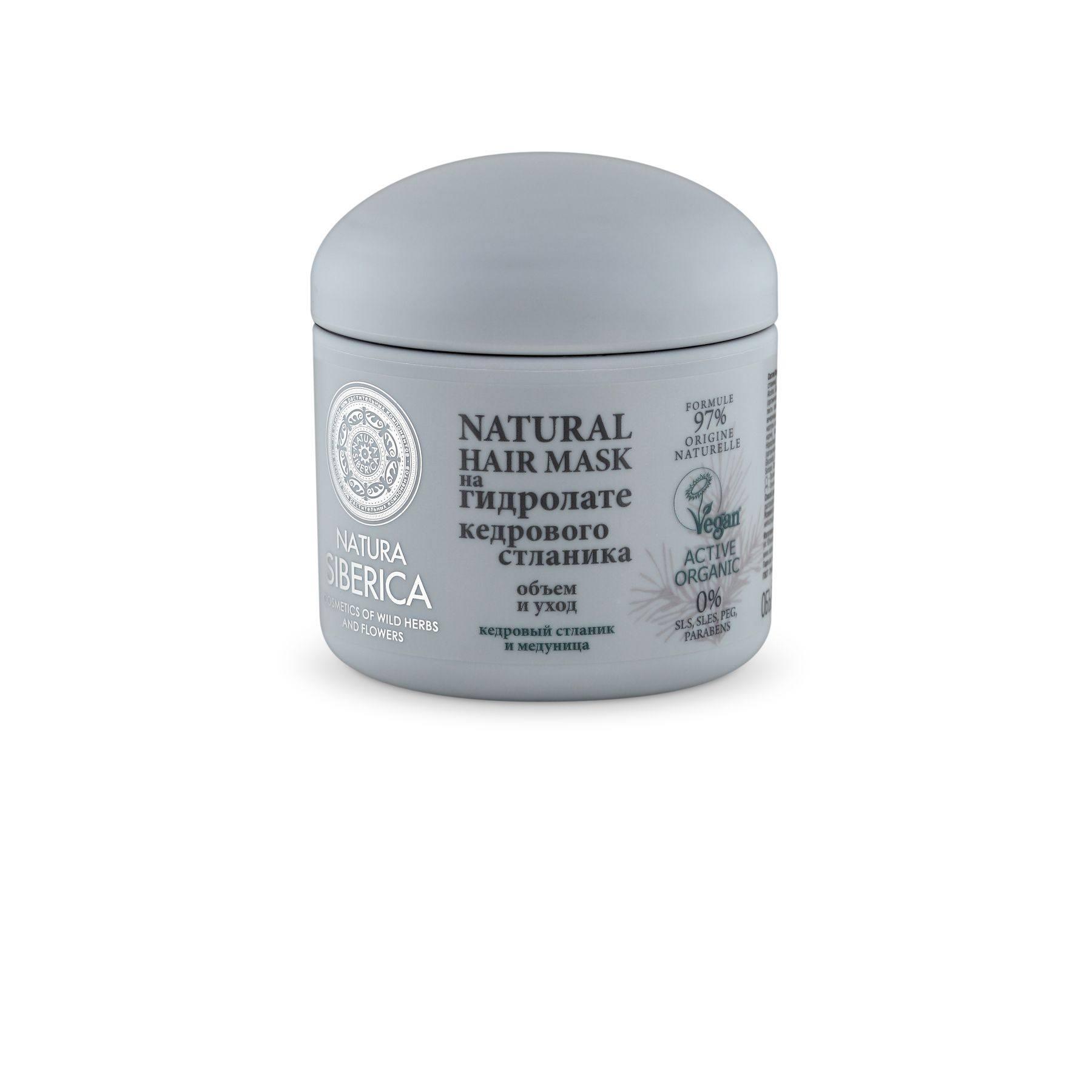 Купить Natura Siberica Гидролат Маска для всех типов волос Объем и уход , 370 мл (shop: Organic-shops Organic shops)